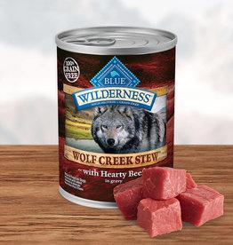 BLUE BUFFALO COMPANY BLUE BUFFALO WILDERNESS WOLF CREEK BEEF STEW 12.5OZ CASE OF 12