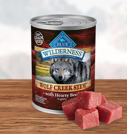 BLUE BUFFALO COMPANY BLUE BUFFALO WILDERNESS WOLF CREEK BEEF STEW 12.5OZ