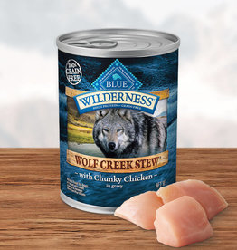 BLUE BUFFALO COMPANY BLUE BUFFALO WILDERNESS WOLF CREEK CHICKEN STEW 12.5OZ