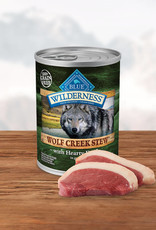 BLUE BUFFALO COMPANY BLUE BUFFALO WILDERNESS WOLF CREEK DUCK STEW 12.5OZ CASE OF 12