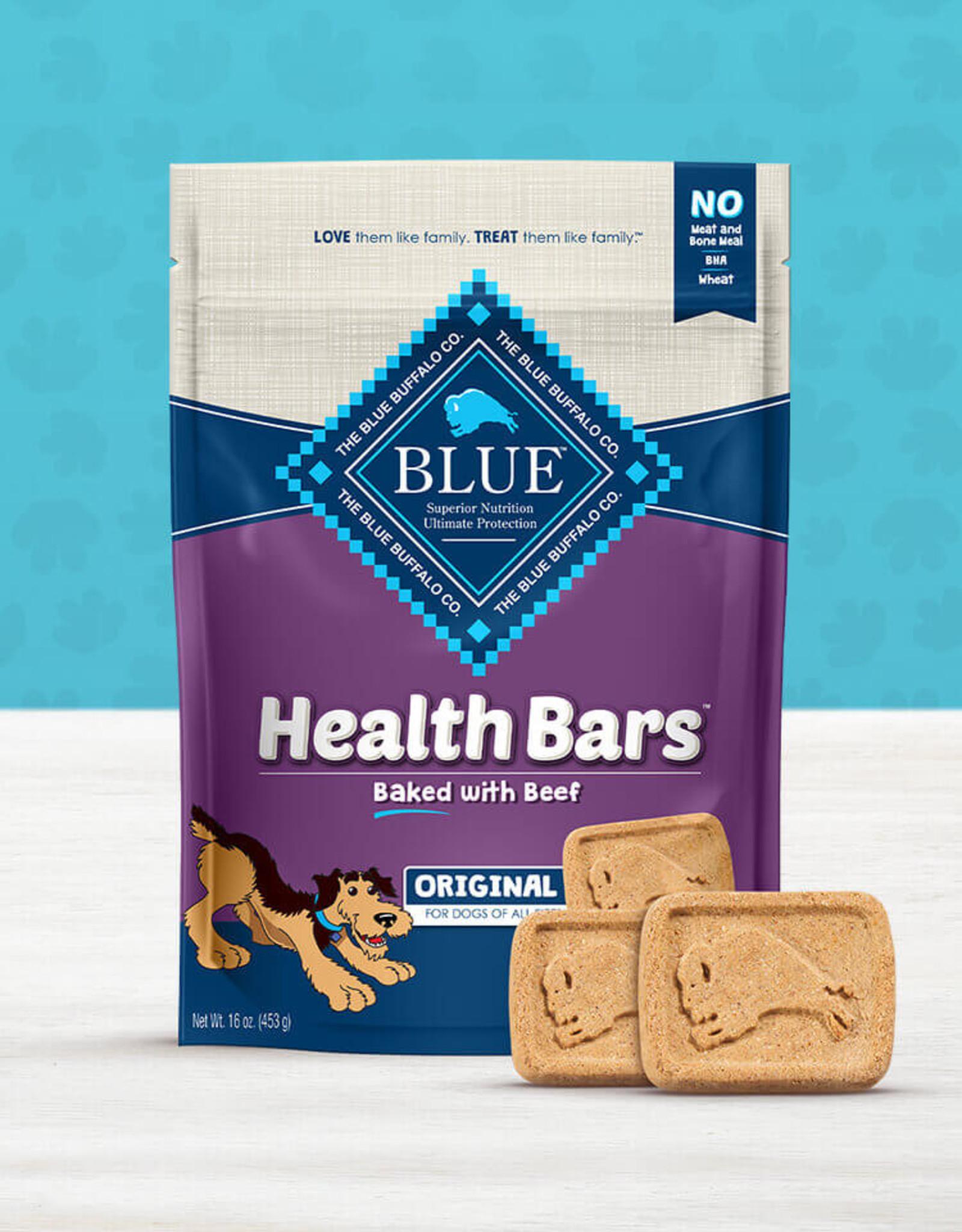 BLUE BUFFALO COMPANY BLUE BUFFALO HEALTH BAR WITH BEEF 16OZ