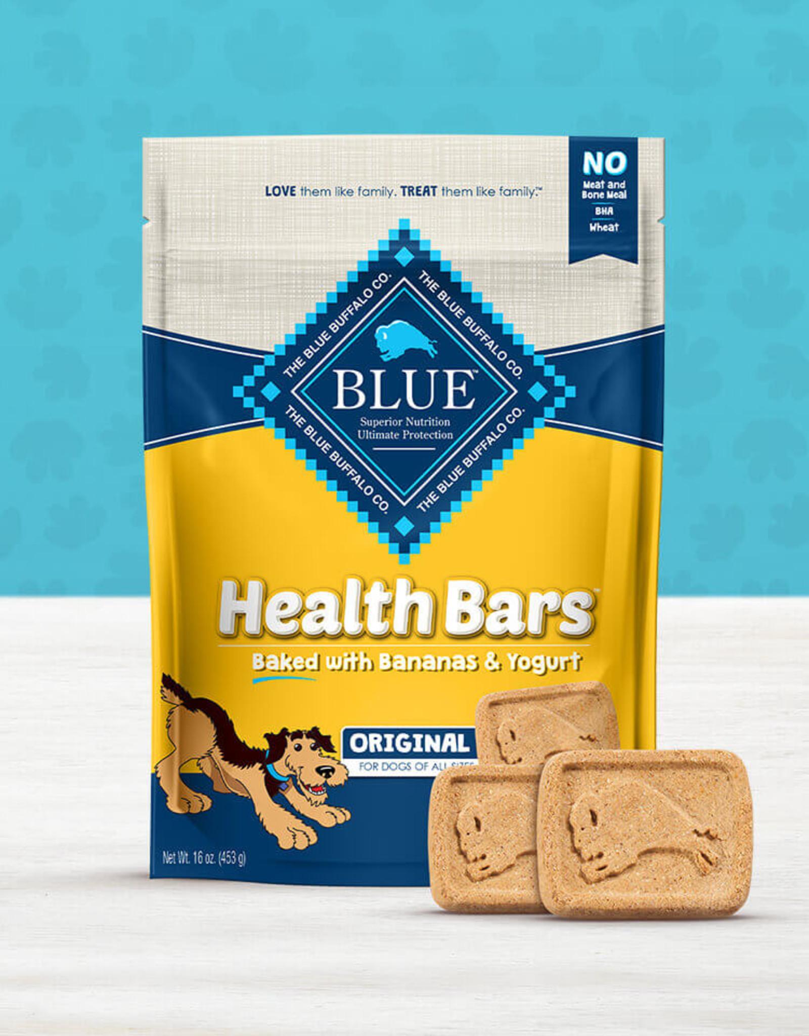BLUE BUFFALO COMPANY BLUE BUFFALO DOG TREAT HEALTH BAR BANANA YOGURT 16OZ