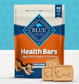 BLUE BUFFALO COMPANY BLUE BUFFALO DOG TREAT HEALTH BAR PUMPKIN CINNAMON 16oz