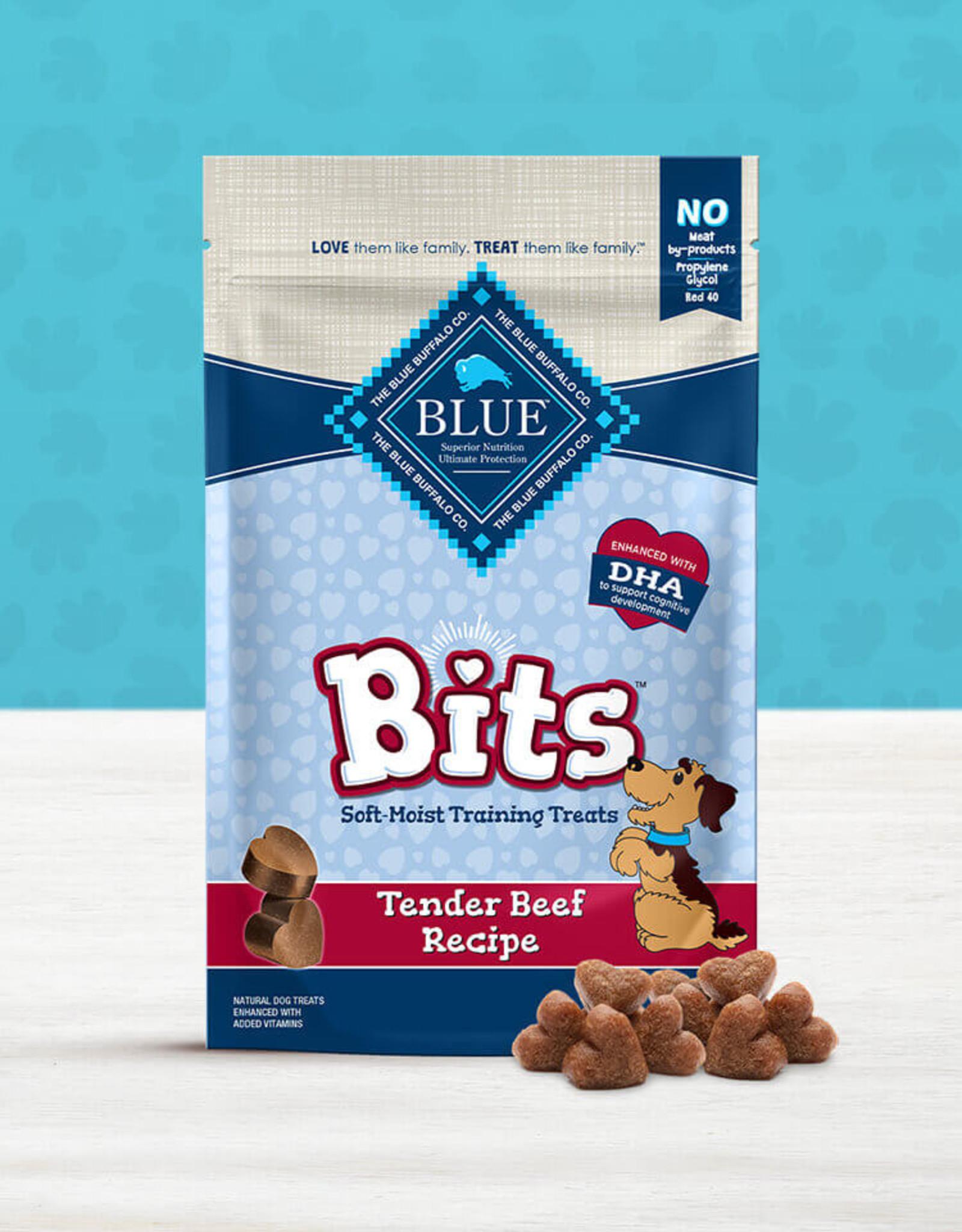 BLUE BUFFALO COMPANY BLUE BUFFALO DOG TREAT BITS BEEF 4OZ