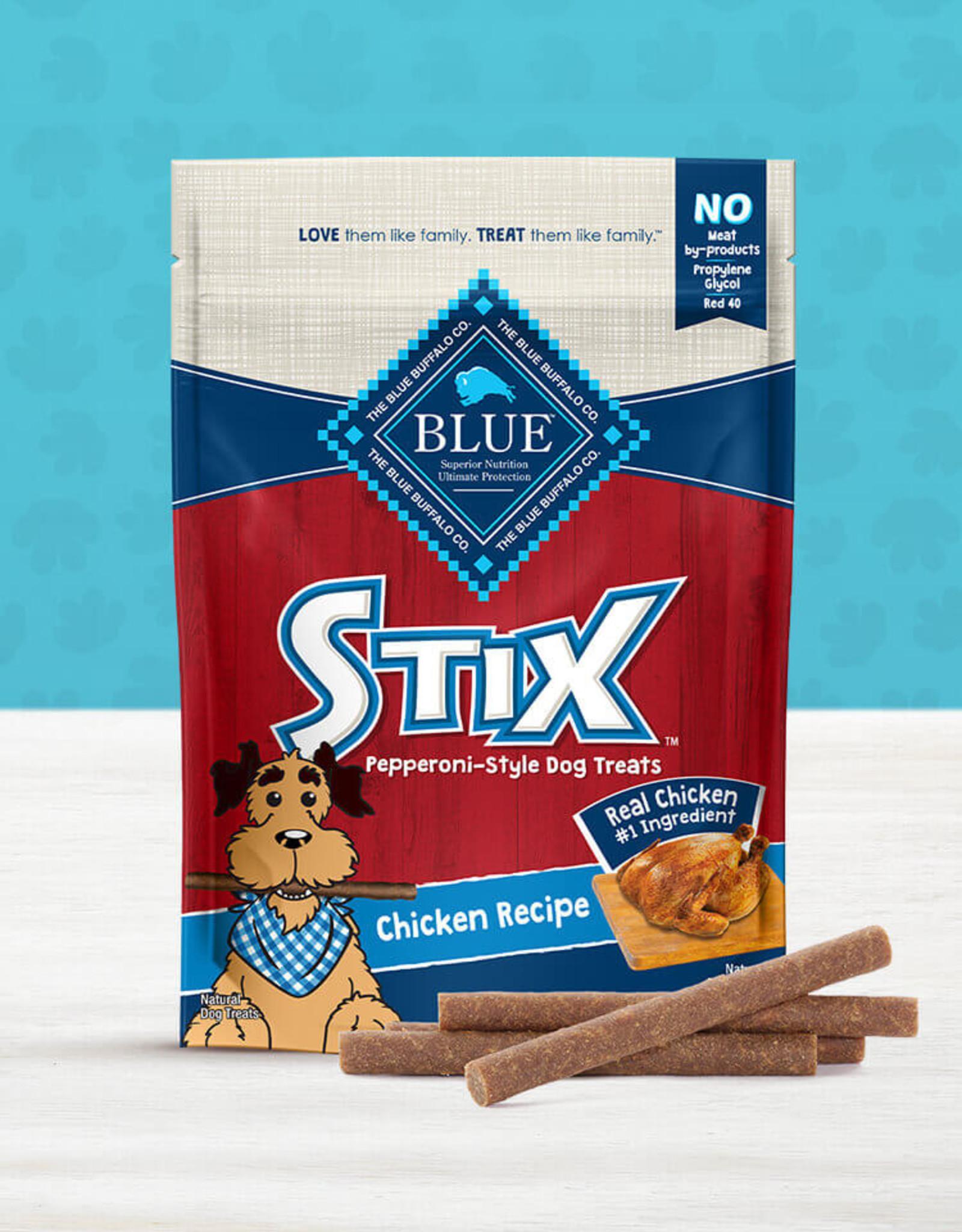 BLUE BUFFALO COMPANY BLUE BUFFALO DOG TREAT STIX CHICKEN BROWN RICE 6OZ