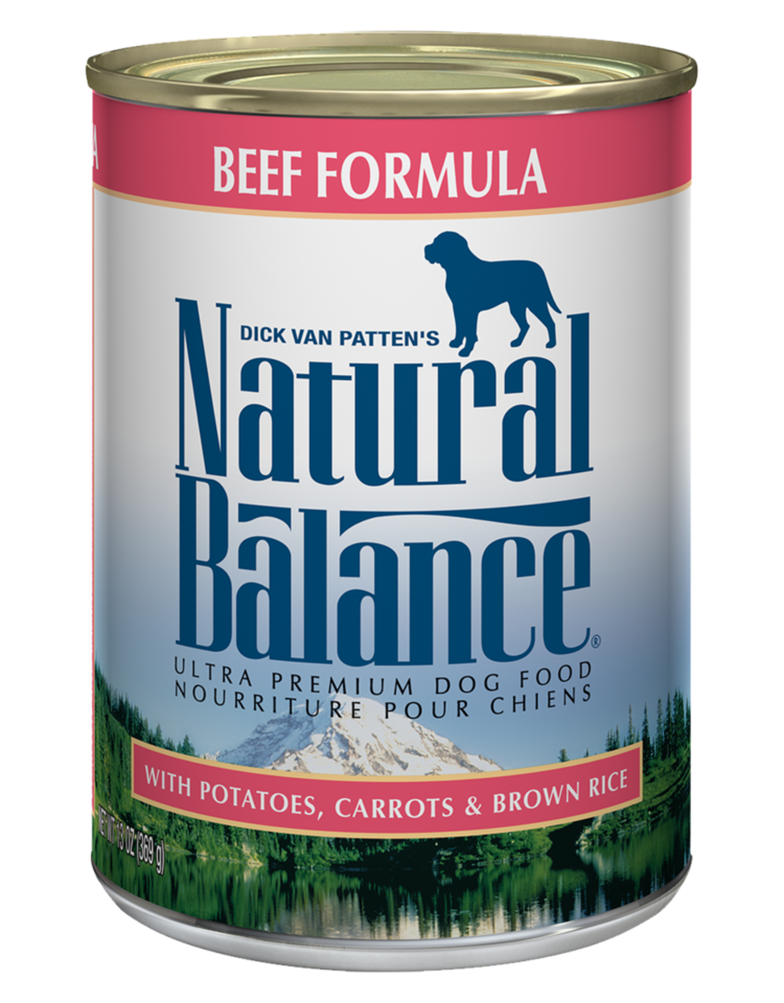 NATURAL BALANCE PET FOODS, INC NATURAL BALANCE DOG CAN BEEF FORMULA 13OZ