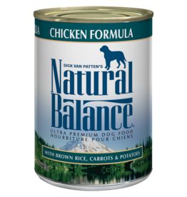NATURAL BALANCE PET FOODS, INC NATURAL BALANCE DOG CAN CHICKEN 6OZ CASE OF 12 DISCONTINUED