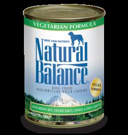 NATURAL BALANCE PET FOODS, INC NATURAL BALANCE DOG CAN VEGETARIAN 13OZ