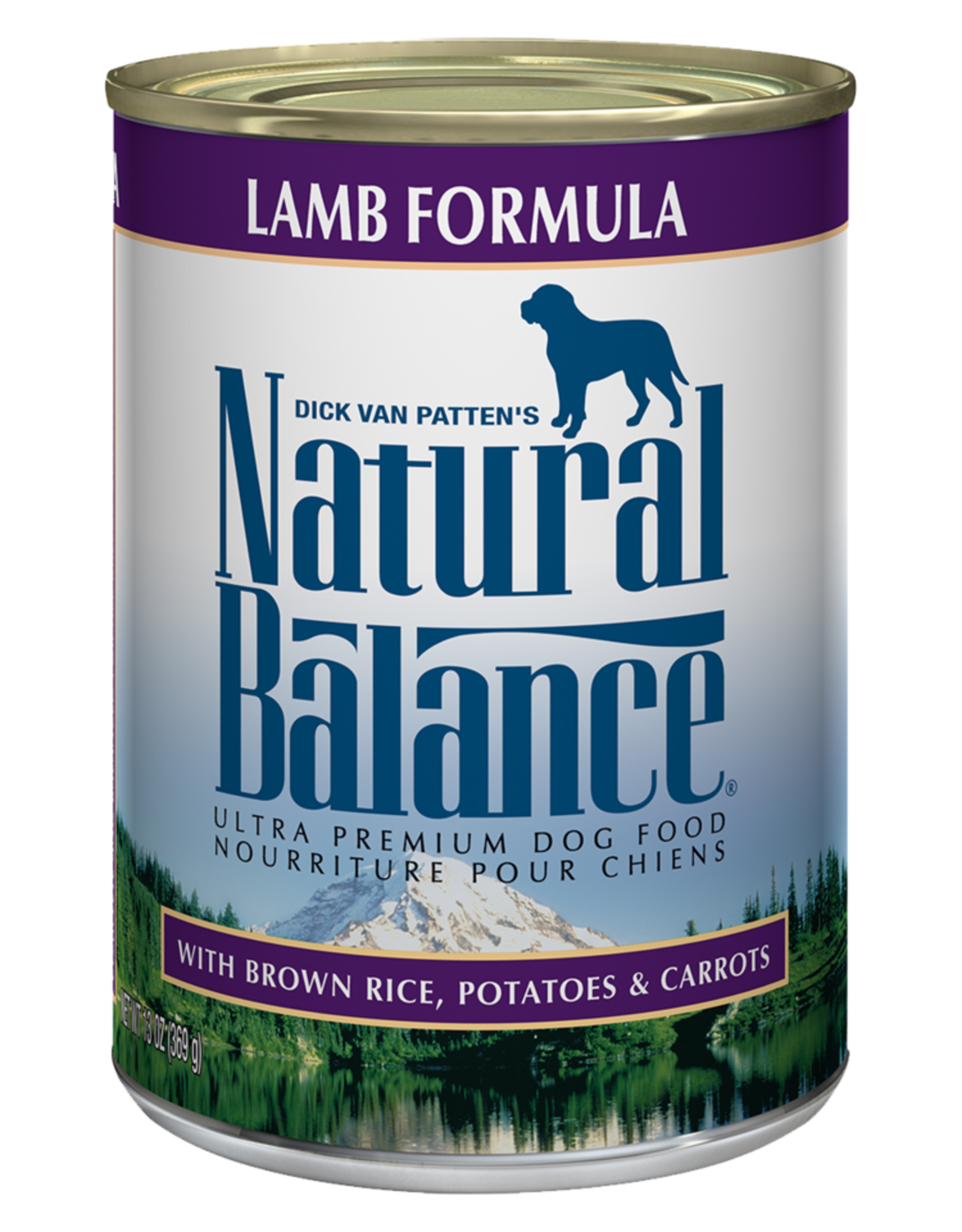 NATURAL BALANCE PET FOODS, INC NATURAL BALANCE DOG LAMB FORMULA CAN 13OZ