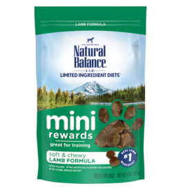 NATURAL BALANCE PET FOODS, INC NATURAL BALANCE MINI REWARD TREAT LAMB  4OZ