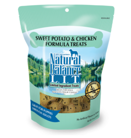 NATURAL BALANCE PET FOODS, INC NATURAL BALANCE BISCUIT SWT POT & CHICKEN 8OZ