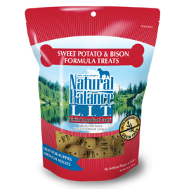 NATURAL BALANCE PET FOODS, INC NATURAL BALANCE BISCUITS BISON & SWEET POTATO 8OZ