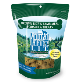 NATURAL BALANCE PET FOODS, INC NATURAL BALANCE BISCUITS LAMB & RICE 8OZ