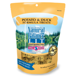 NATURAL BALANCE PET FOODS, INC NATURAL BALANCE BISCUITS POTATO & DUCK SMALL BREED 8OZ
