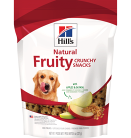 SCIENCE DIET HILL'S CRUNCHY FRUITY SNACKS WITH APPLES & OATMEAL 8OZ