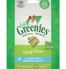 GREENIES GREENIES FELINE DENTAL TREAT CATNIP 4.6OZ