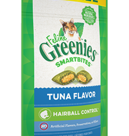 GREENIES GREENIES FELINE SMARTBITES HAIRBALL CONTROL TUNA 4.6OZ