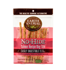 EARTH ANIMAL VENTURES EARTH ANIMAL NO HIDE SALMON STIX SMALL 10PK