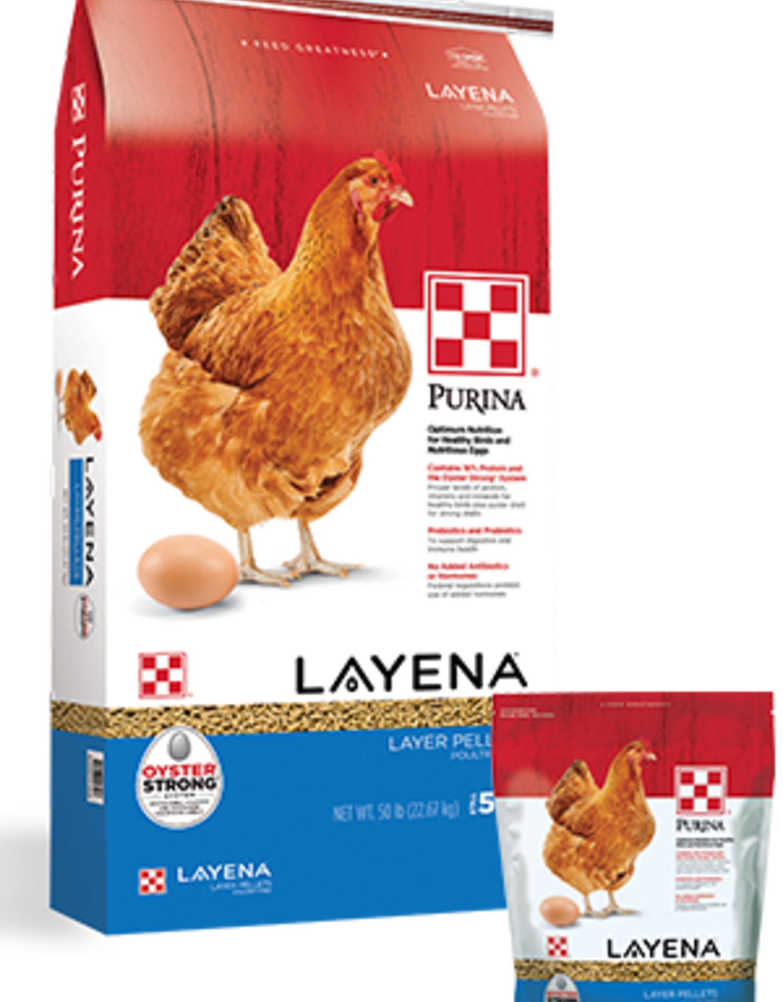 PURINA MILLS, INC. LAYENA PELLETS 50LBS