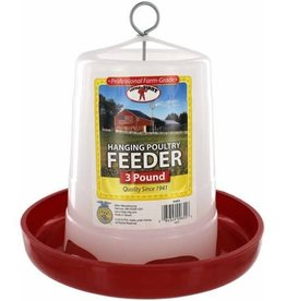 MILLER MANUFACTURING FEEDER 3# CHICKEN PLASTIC HANGING