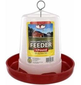 MILLER MANUFACTURING FEEDER 3# CHICKEN PLASTIC HANGING