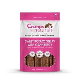CRUMPS NATURAL CRUMPS NATURAL SWEET POTATO STRIPS CRANBERRY 5.6oz