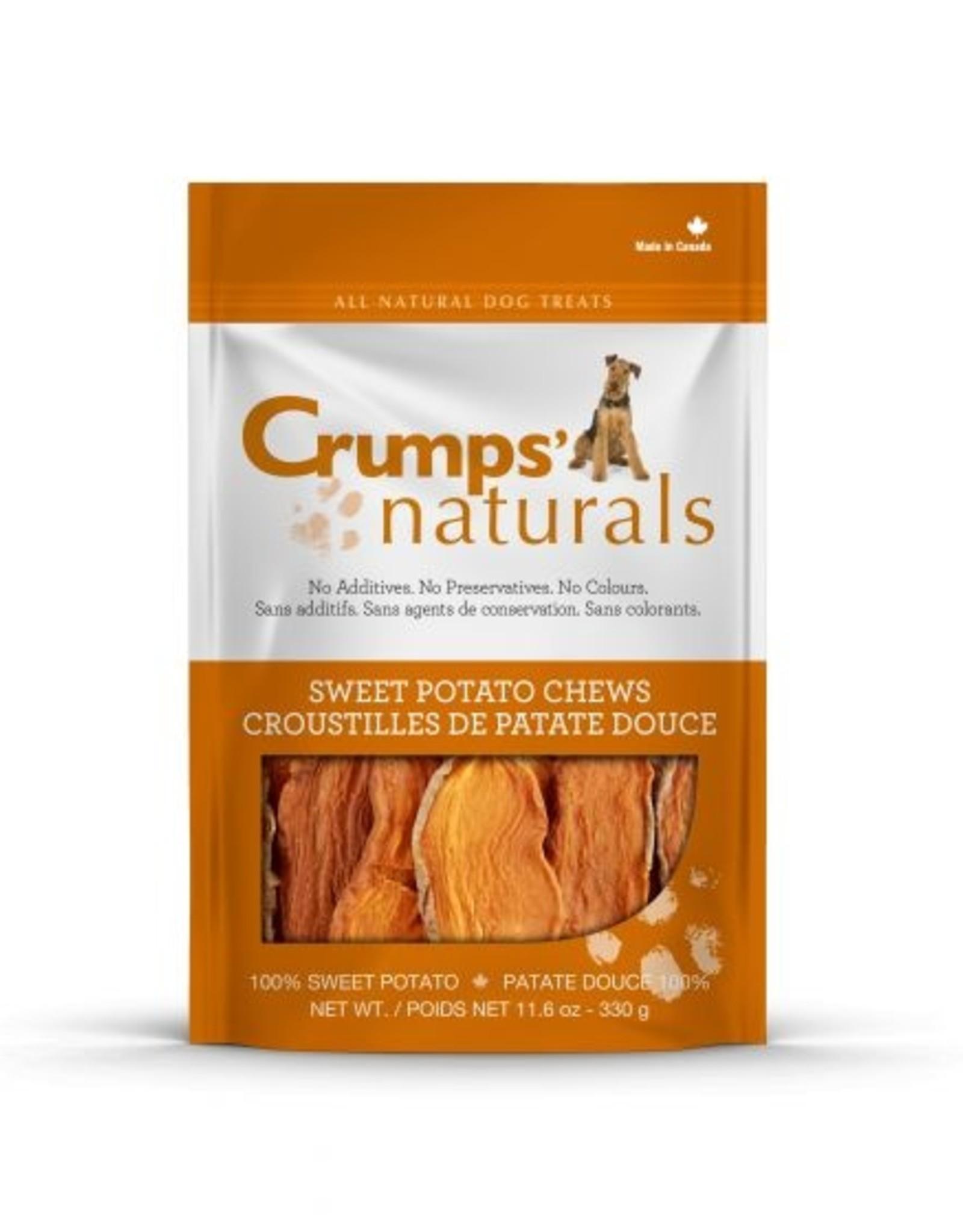 CRUMPS NATURAL CRUMPS NATURAL SWEET POTATO CHEW 11.6OZ