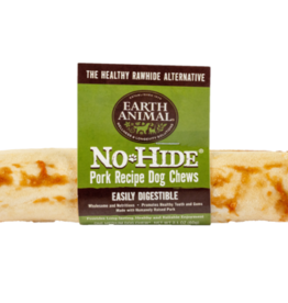 EARTH ANIMAL VENTURES EARTH ANIMAL DOG NO-HIDE PORK 7IN 24ct