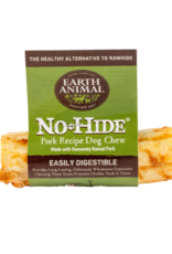 EARTH ANIMAL VENTURES EARTH ANIMAL DOG NO-HIDE PORK 4IN 24CT