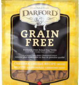 DARFORD INDUSTRIES DARFORD BISCUITS GRAIN FREE CHEDDAR MINIS RECIPE 12OZ