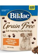 BIL-JAC FOODS, INC. BIL-JAC GRAIN FREE SOFT TRAINING TREATS FOR DOGS