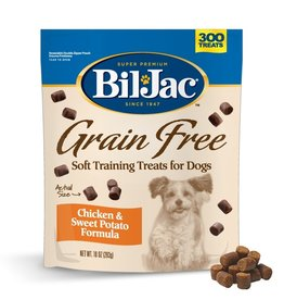 KELLY FOODS CORPORATION BIL-JAC GRAIN FREE SOFT TRAINING TREATS FOR DOGS