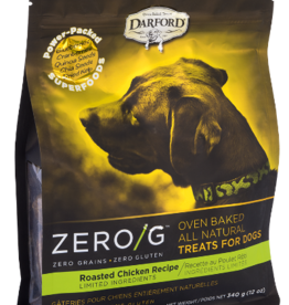DARFORD INDUSTRIES DARFORD BISCUITS ZERO/G ROASTED CHICKEN 12OZ