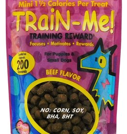 CARDINAL PET CARE CRAZY DOG TRAIN-ME! MINI REWARDS BEEF 4oz