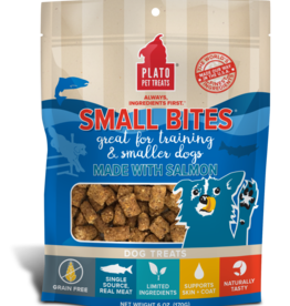 KDR PET TREATS PLATO SALMON SMALL BITES 2.5OZ