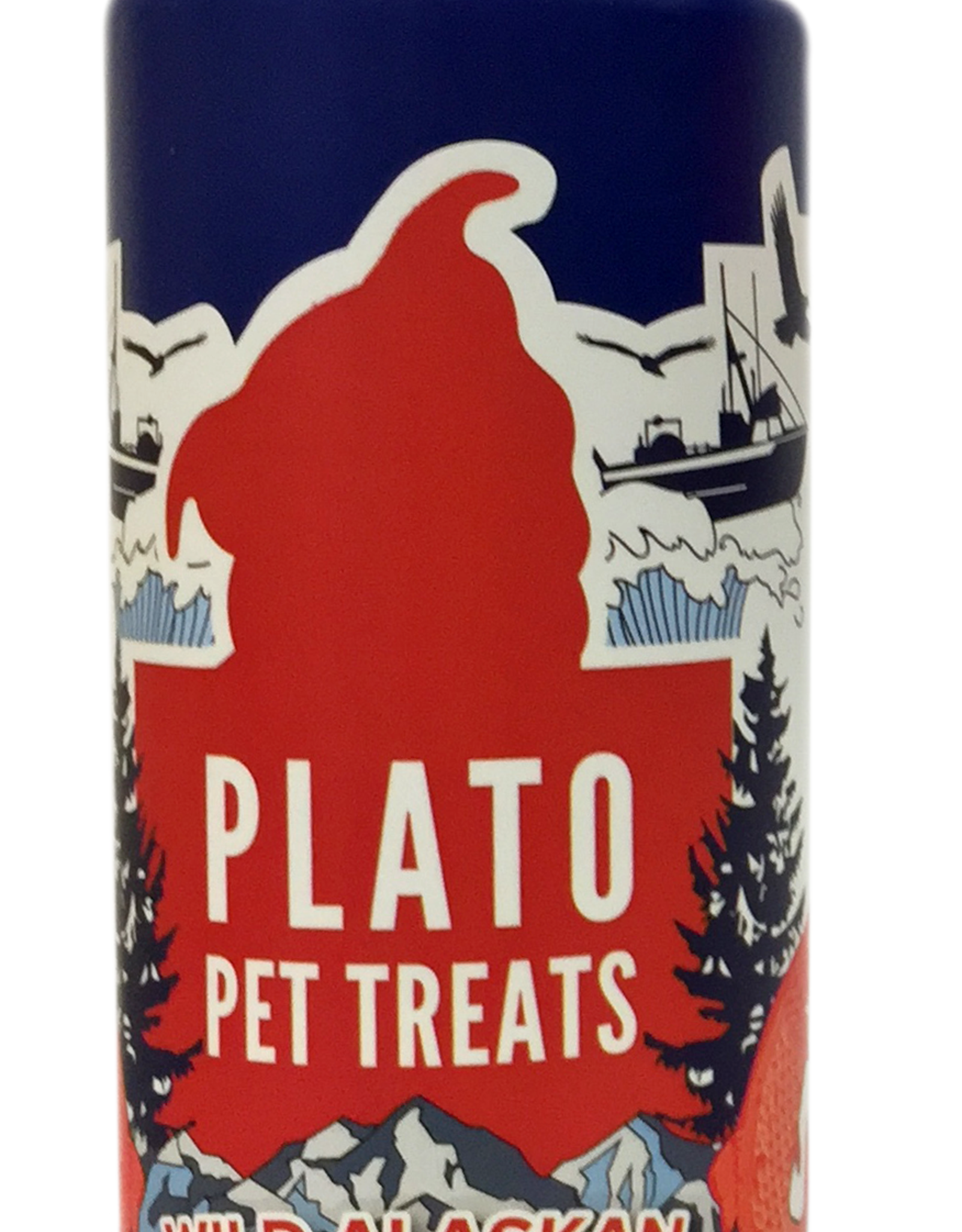 KDR PET TREATS PLATO WILD ALASKA SALMON OIL 32OZ