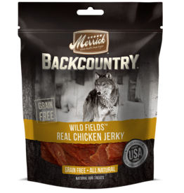 MERRICK PET CARE, INC. MERRICK BC WILD FIELD REAL CHICKEN JERKY 4.5oz DOG TREAT