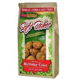 K9 GRANOLA FACTORY K9 GRANOLA FACTORY SOFT BAKES BIRTHDAY CAKE 12OZ