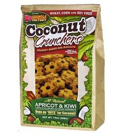 K9 GRANOLA FACTORY K9 GRANOLA FACTORY BISCUITS COCONUT CRUNCHERS APRICOT & KIWI 16OZ
