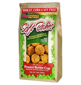 K9 GRANOLA FACTORY K9 GRANOLA FACTORY BISCUITS SOFT BAKES PEANUT BUTTER CUP 12OZ