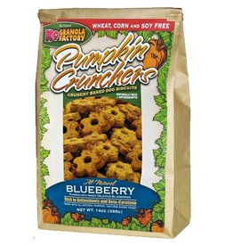 K9 GRANOLA FACTORY K9 GRANOLA FACTORY BISCUITS PUMPKIN CRUNCHERS BLUEBERRY 16OZ