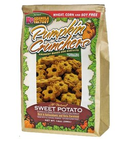 K9 GRANOLA FACTORY K9 GRANOLA FACTORY BISCUITS PUMPKIN CRUNCHERS SWEET POTATO 16OZ