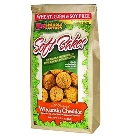 K9 GRANOLA FACTORY K9 GRANOLA FACTORY BISCUITS SOFT BAKES WISCONSIN CHEDDAR 12OZ