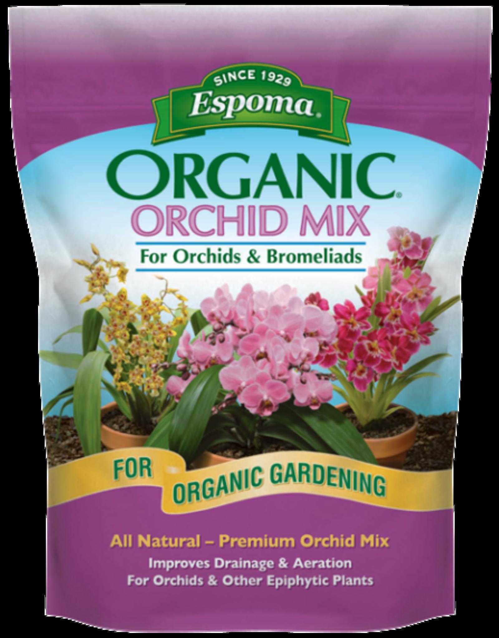 ESPOMA COMPANY ESPOMA ORCHID ORGANIC MIX 4QT