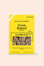 BOCCES BAKERY DOG JUST PB & BANANA BISCUITS 14OZ