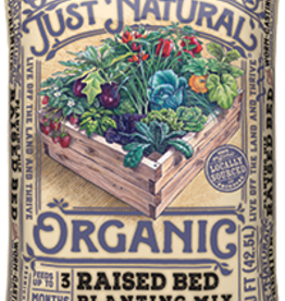 JUST NATURALS RAISED BED PLANTING MIX 1.5 cuft
