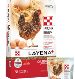 PURINA MILLS, INC. LAYENA PLUS OMEGA PELLET 10LBS