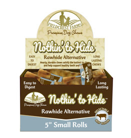 """NOTHIN' TO HIDE RAWHIDE ALTERNATIVE 5"""" ROLL BEEF"""