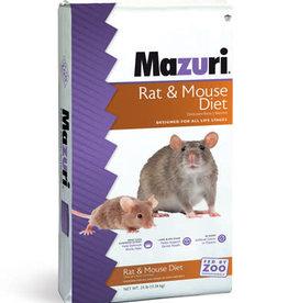 PURINA MILLS, INC. MAZURI RAT & MOUSE DIET 25LBS