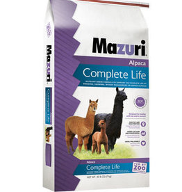 PURINA MILLS, INC. MAZURI ALPACA COMPLETE LIFE (GRO & REPRO) 40LBS
